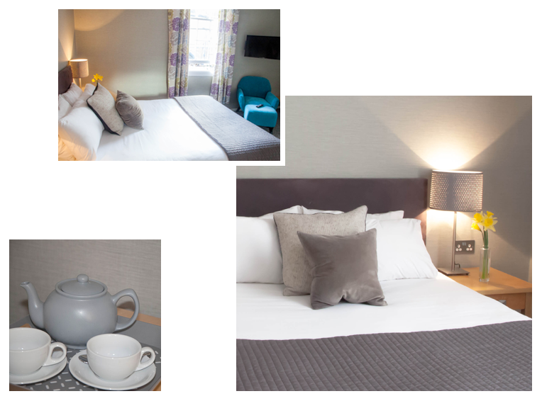 Rooms - The Warwick Arms Hotel